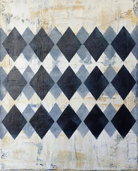Wall Art - Painting - Harlequin Series 3 by Julie Niemela