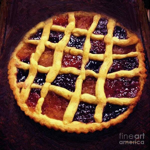 Painting - Harlequin Tart by RC DeWinter