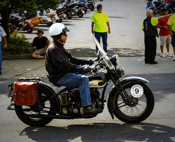 Photograph - Harley 9 by Jeff Kurtz