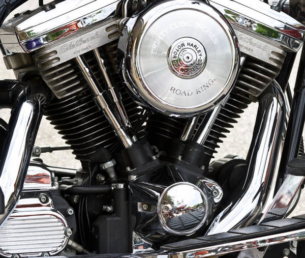 Photograph - Harley Chrome And Steel by Ed Gleichman