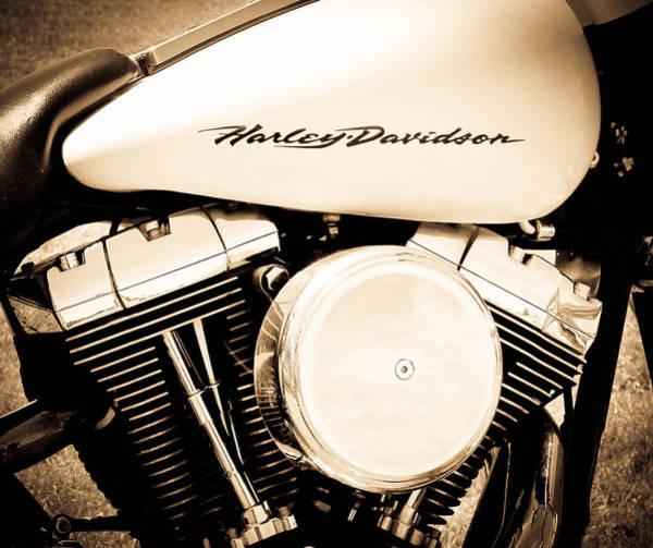 Wall Art - Photograph - Harley Davidson by Athena Mckinzie