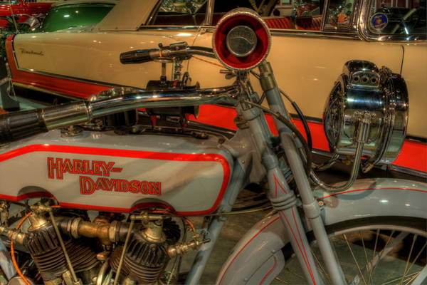 Photograph - Harley Davidson by David Dufresne