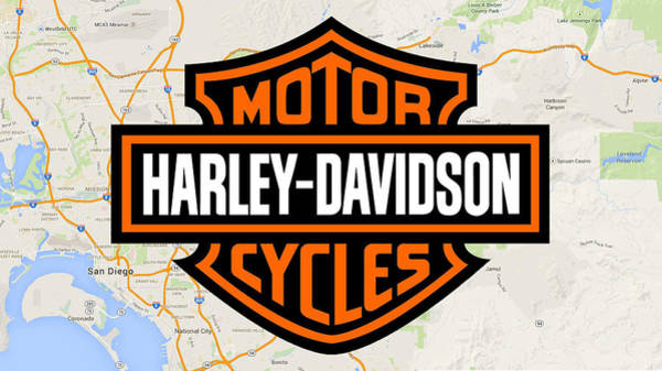 Digital Art - Harley-davidson by Photographic Art by Russel Ray Photos