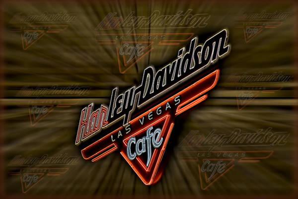 Photograph - Harley Davidson by Susan Candelario