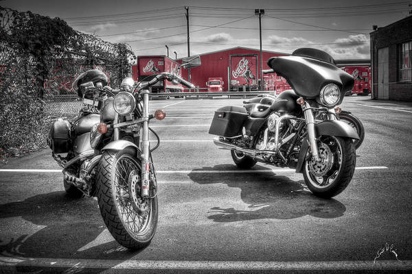 Photograph - Harleys And Coke by Williams-Cairns Photography LLC