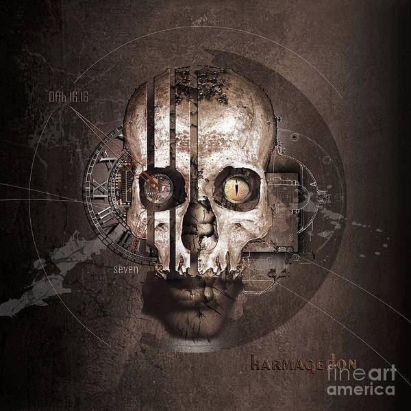 End Times Digital Art - Harmagedon by Franziskus Pfleghart