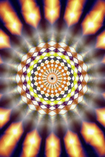 Drawing - Harmonic Sphere Of Energy by Derek Gedney