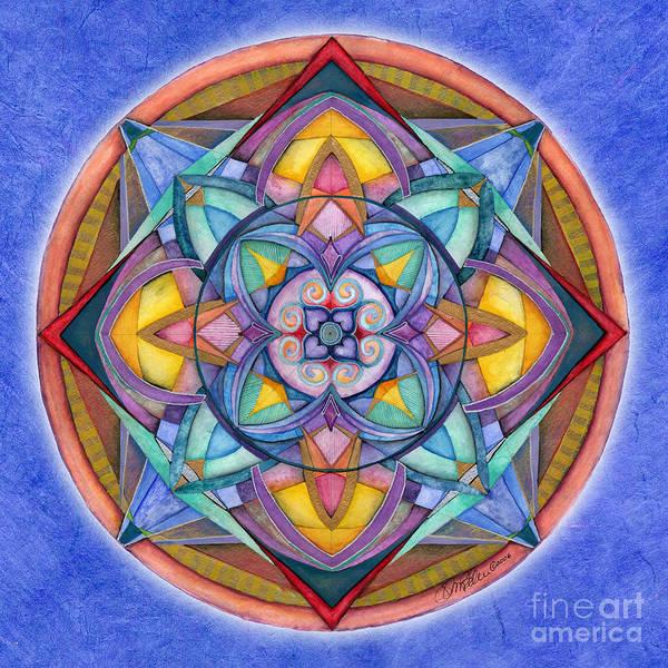 Painting - Harmony Mandala by Jo Thomas Blaine