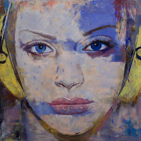 Frau Painting - Harmony by Michael Creese