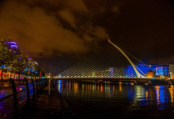 Photograph - Harp Bridge Dublin by Rob Hemphill