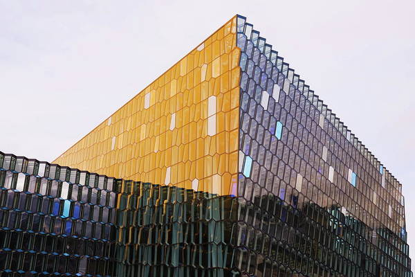 Concert Hall Photograph - Harpa Concert Hall And Conference by Christian Kober / Robertharding