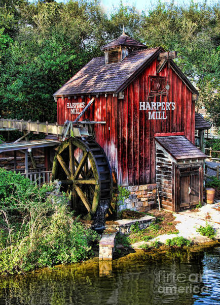 Wall Art - Photograph - Harper's Mill II by Lee Dos Santos