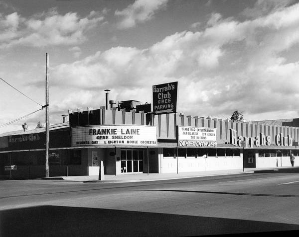 Harrahs Photograph - Harrah's Club In Las Vegas by Underwood Archives