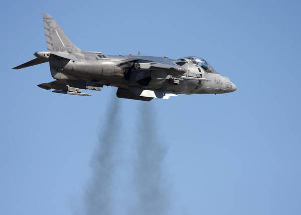 Photograph - Harrier Jet by Nathan Rupert