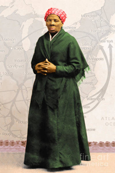 Photograph - Harriet Tubman The Underground Railroad 20140210v2 by Wingsdomain Art and Photography