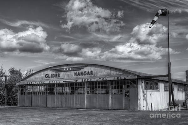 Photograph - Harris Hill Glider Hangar II by Clarence Holmes
