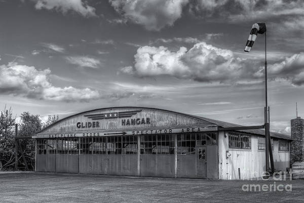 Photograph - Harris Hill Glider Hangar Iv by Clarence Holmes