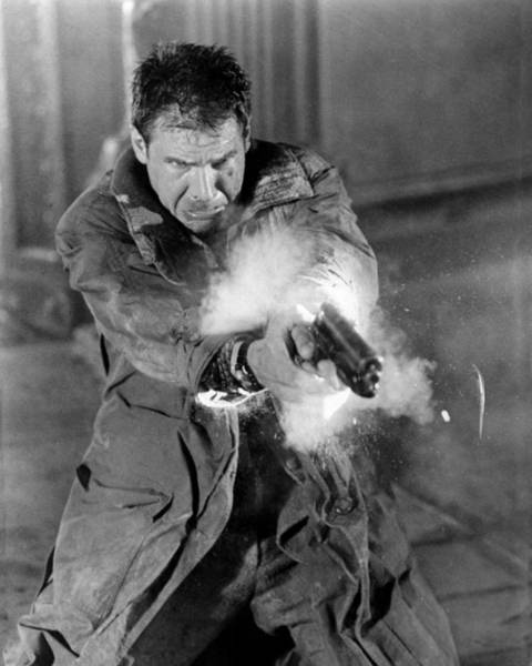 Wall Art - Photograph - Harrison Ford In Blade Runner  by Silver Screen