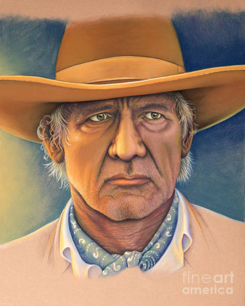 Pastel - Harrison Ford by Tish Wynne
