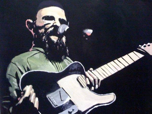 Groundation Painting - Harrison Stafford by Brian  Shea