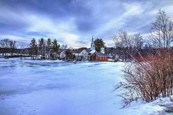 Photograph - Harrisville Pond II by Tom Singleton