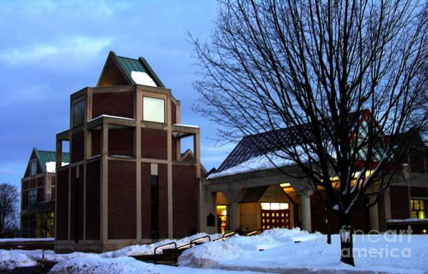 Muhlenberg Photograph - Harry C Trexler Library - Muhlenberg College by Jacqueline M Lewis