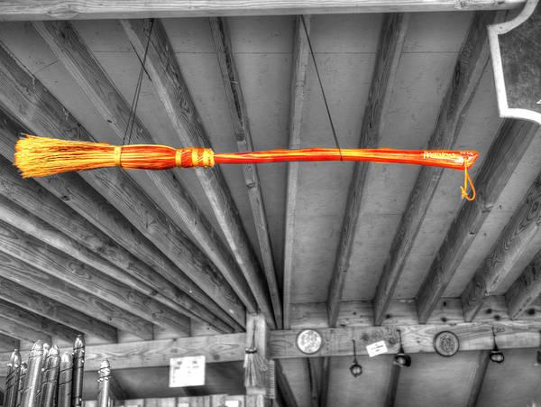 Ron Weasley Wall Art - Photograph - Harry Potter's Nimbus 2000 Broomstick by John Straton