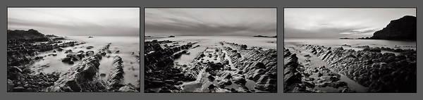 Photograph - Hartland Beach Triptych by Pete Hemington