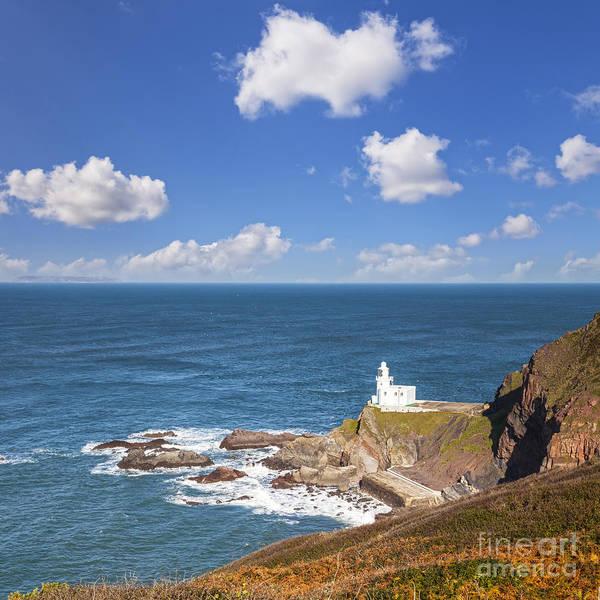 Bristol Channel Photograph - Hartland Point Devon England by Colin and Linda McKie