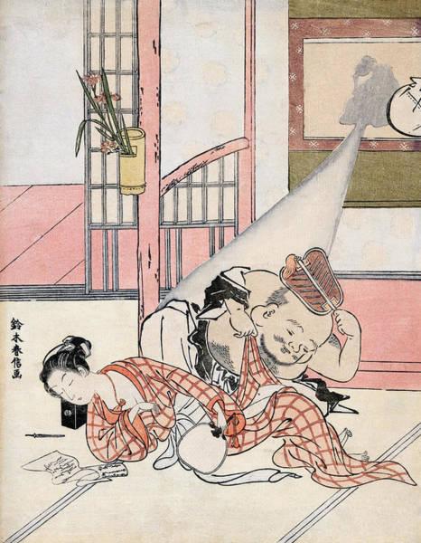 Painting - Harunobu Daikoku, C1767 by Granger