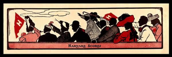Wall Art - Photograph - Harvard Scores 1905 by Benjamin Yeager