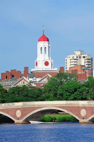 Photograph - Harvard University Campus by Songquan Deng