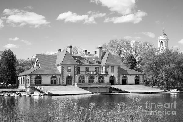 Harvard University Photograph - Weld Boat House At Harvard University by University Icons