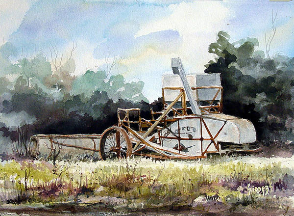 Painting - Harvest Is Over by Sam Sidders