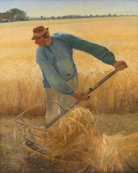 Laurits Andersen Ring Painting - Harvest by Laurits Andersen Ring