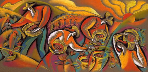 Wall Art - Painting - Harvest  by Leon Zernitsky