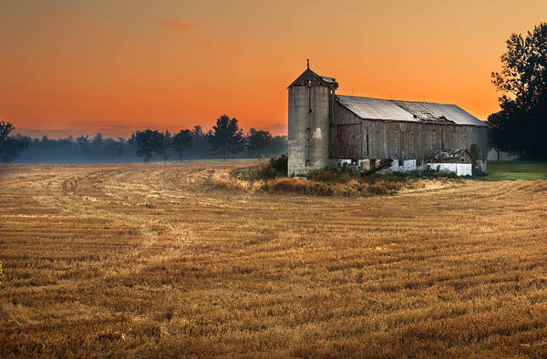 Photograph - Harvest Morning by Garvin Hunter