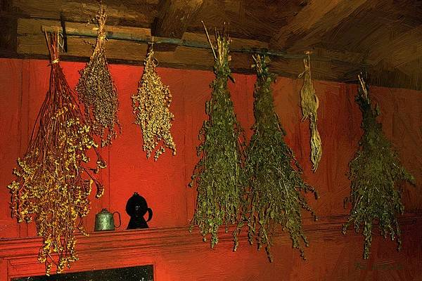 Painting - Harvest Of Herbs by RC DeWinter