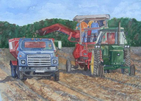 Painting - Harvester by Paula Robertson