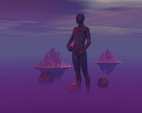 Digital Art - Harvesting The Mist by Judi Suni Hall