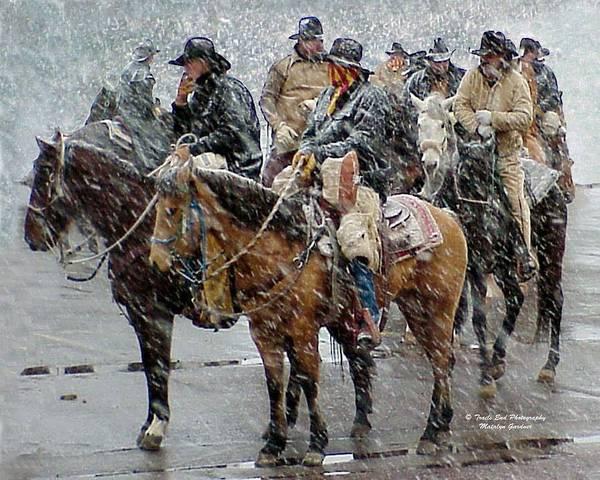 Photograph - Hashknife Pony Express by Matalyn Gardner