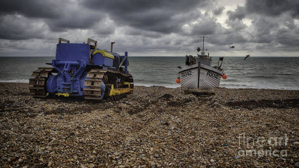 Wall Art - Photograph - Hastings Beach by Nigel Jones