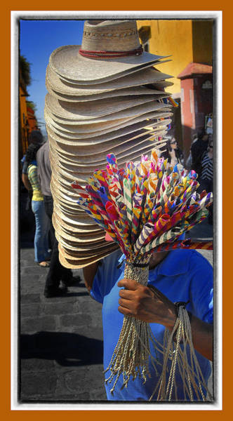Photograph - Hat Man by Barry Weiss