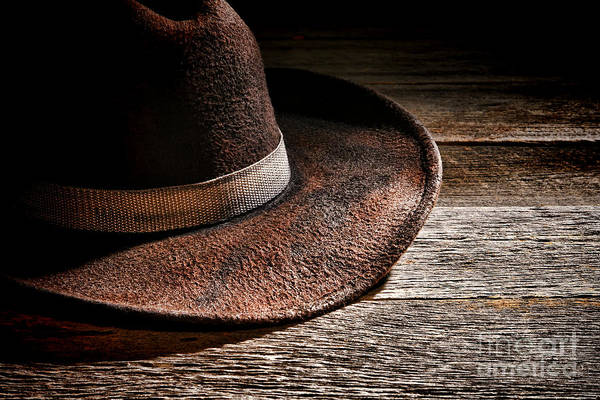 Rodeo Photograph - Hat by Olivier Le Queinec