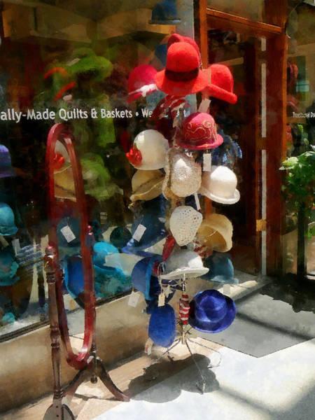 Photograph - Hat Shop by Susan Savad