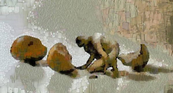 Husk Painting - Hatching by Georgi Dimitrov