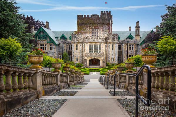 British Columbia Photograph - Hatley Castle by Inge Johnsson