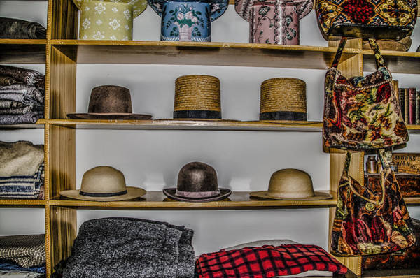 Hats For Sale Photograph - Hats For Sale by Bill Cannon