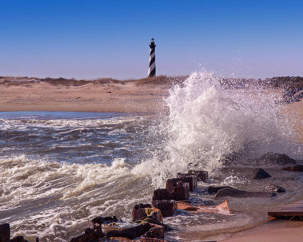 Photograph - Hatteras Lighthouse by Mary Almond