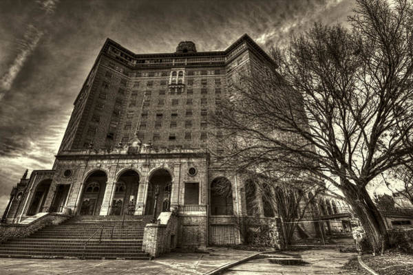 Photograph - Haunted Baker Hotel by Jonathan Davison